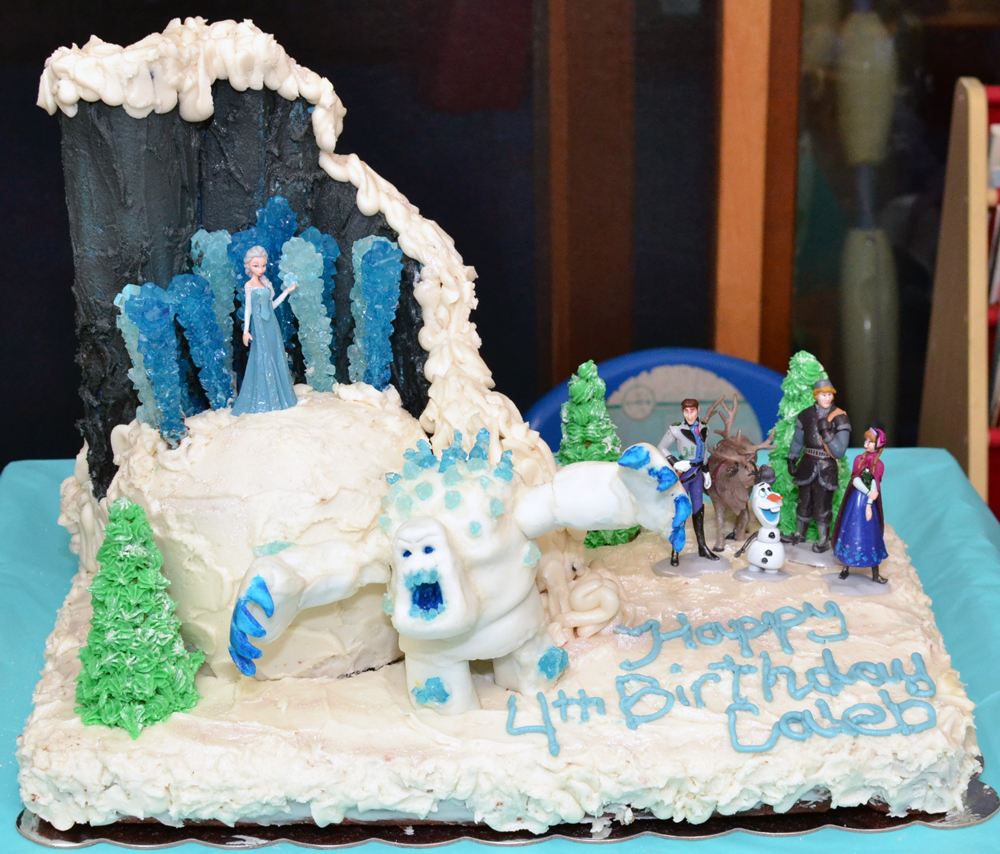 Party Ideas On The Other Post About DIY Frozen Birthday