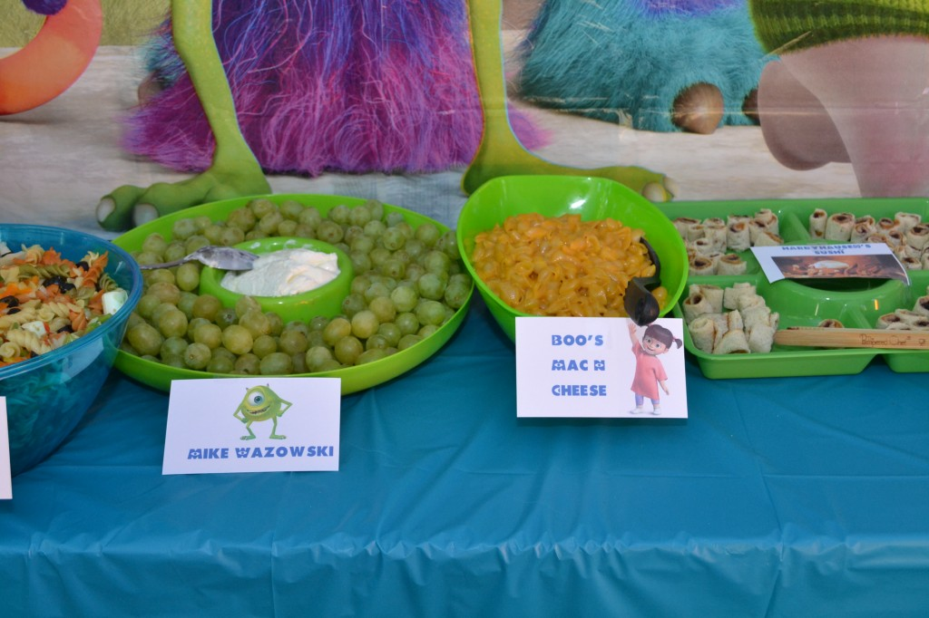 Monsters Inc Birthday Party Ideas