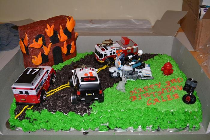Diy Rescue Vehicles Birthday Party Ideas