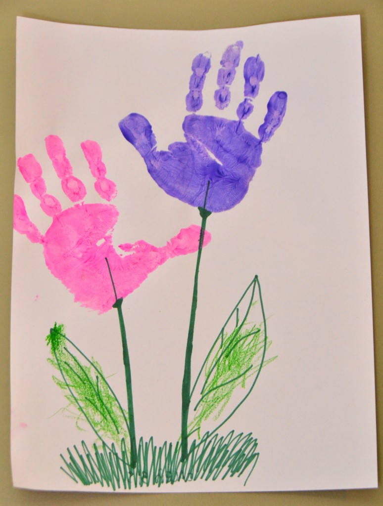 6 simple mothers day crafts for kids for Mothers day painting crafts